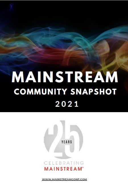 Mainstream Community Snapshot 2021
